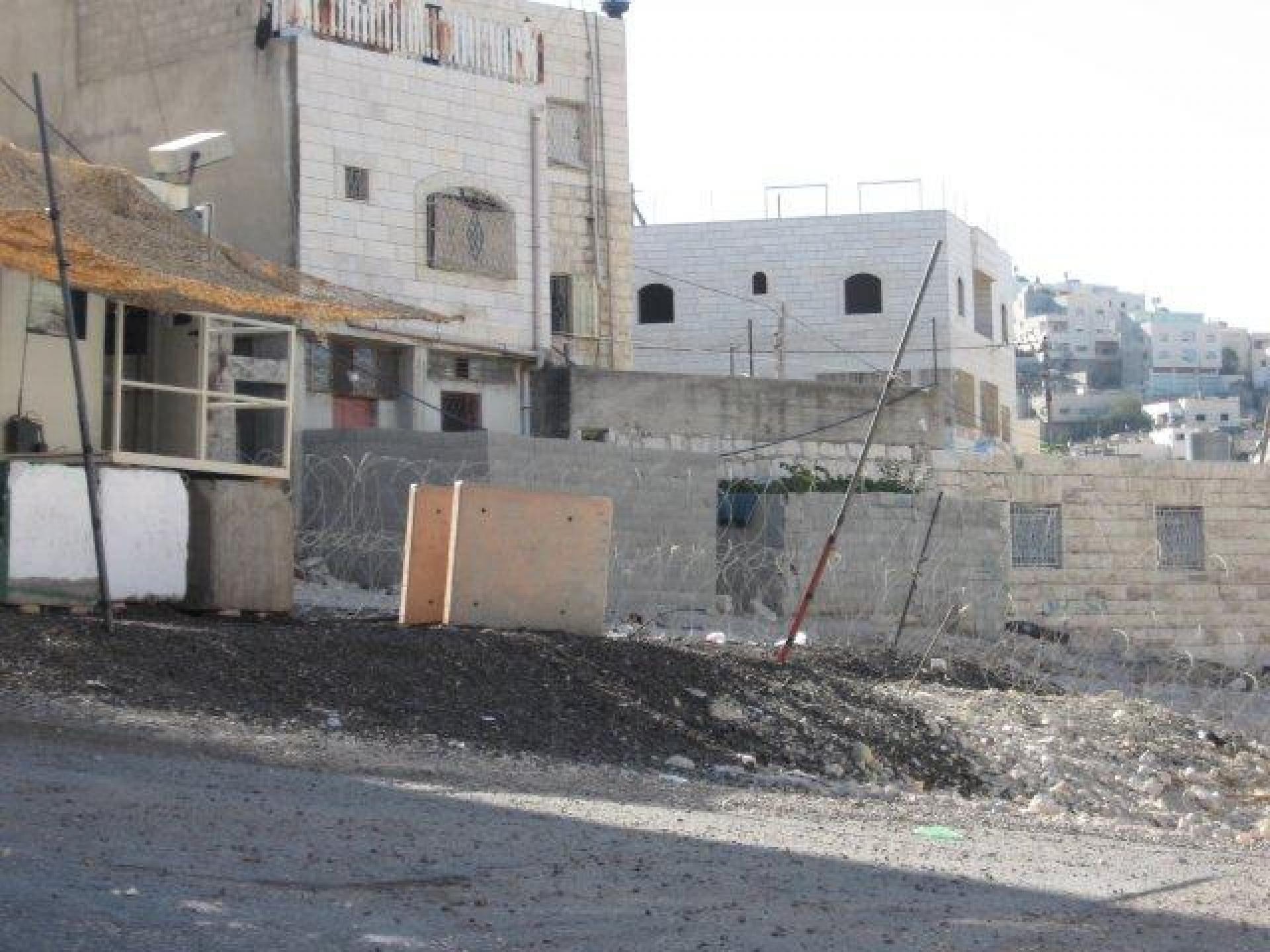 Checkpoint 160,Hebron 13.09.11