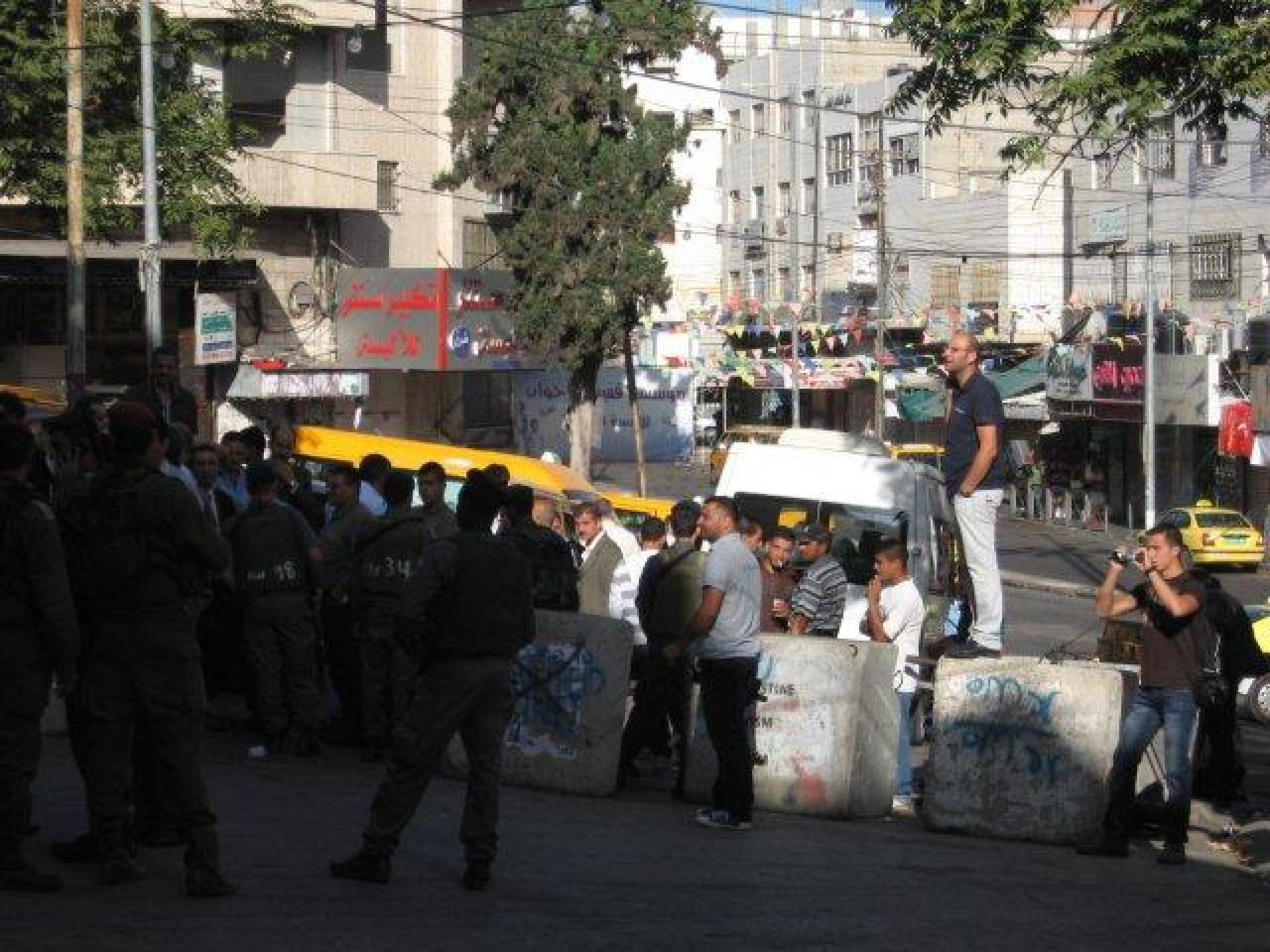 Hebron, Tarpat checkpoint 16.10.11
