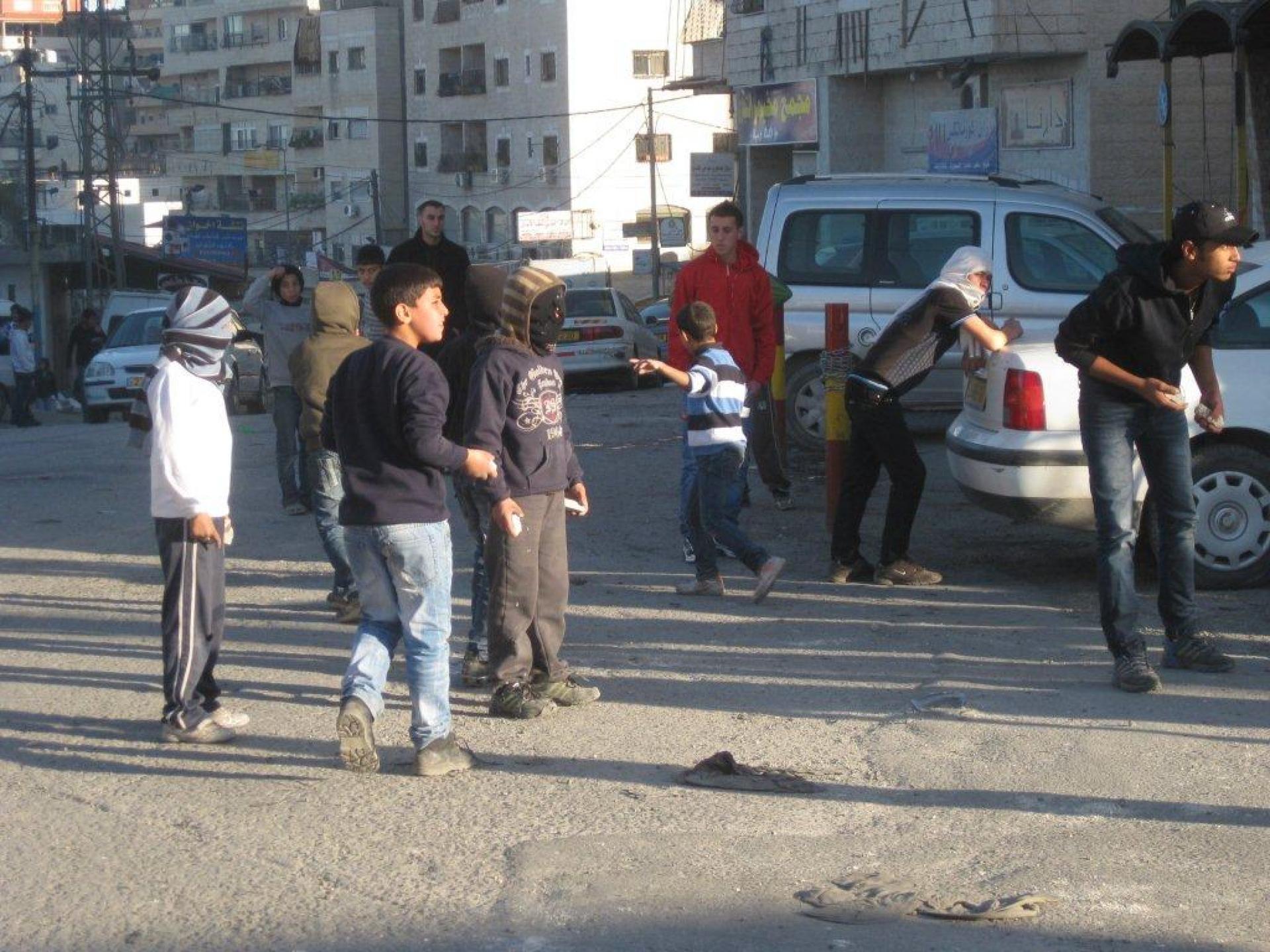 Anata/Shu'fat checkpoint 18.12.11