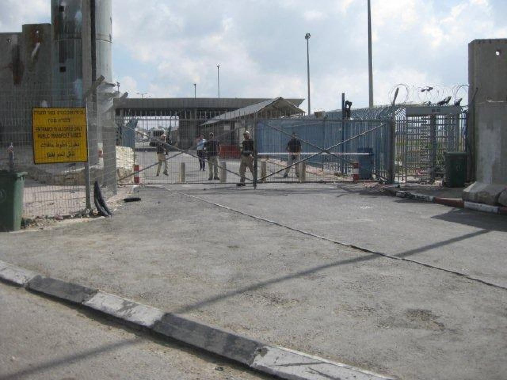 Qalandiya checkpoint 13.05.12
