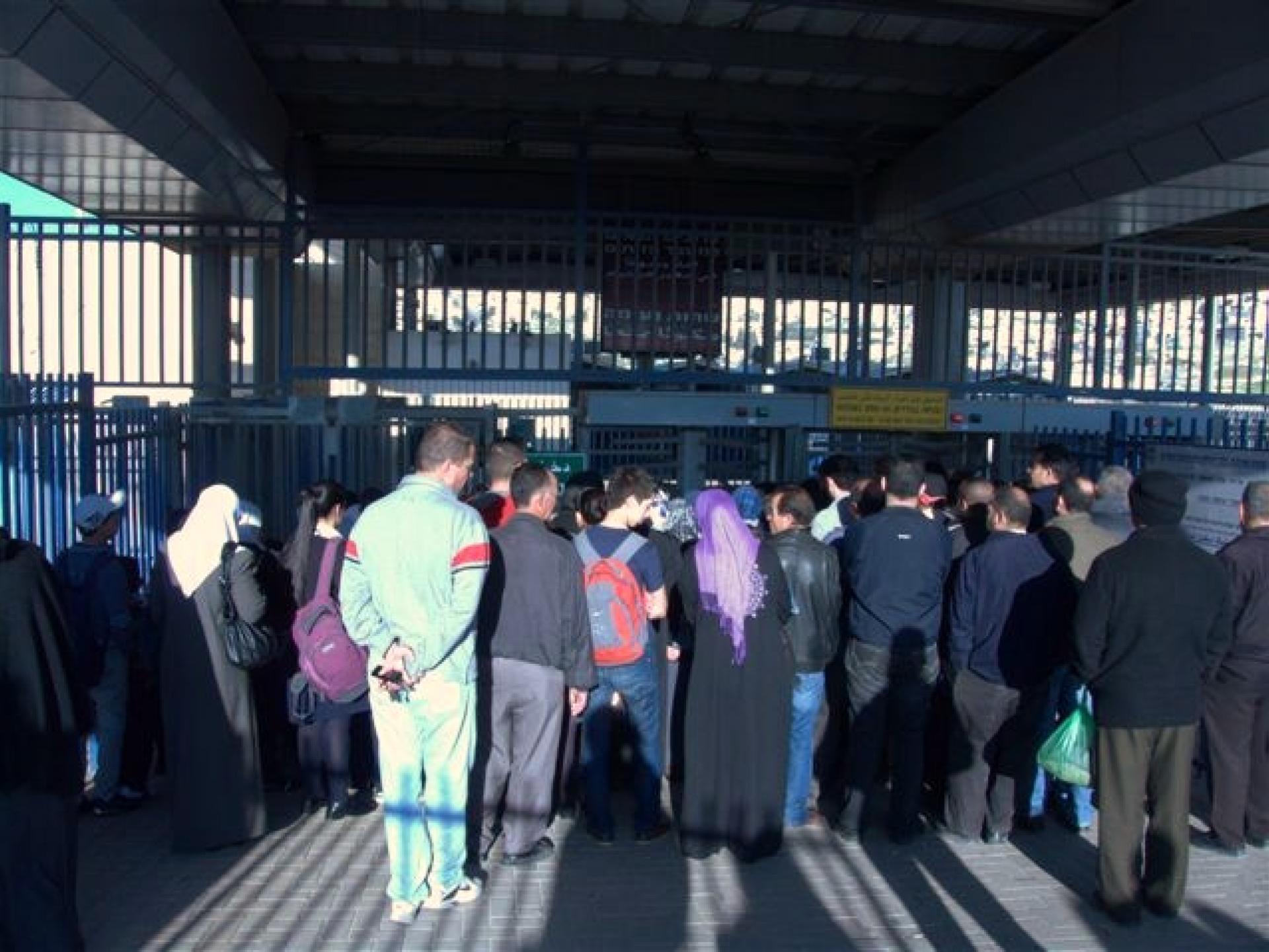 Ras abuSbeitan/Zeitim checkpoint 29.03.12