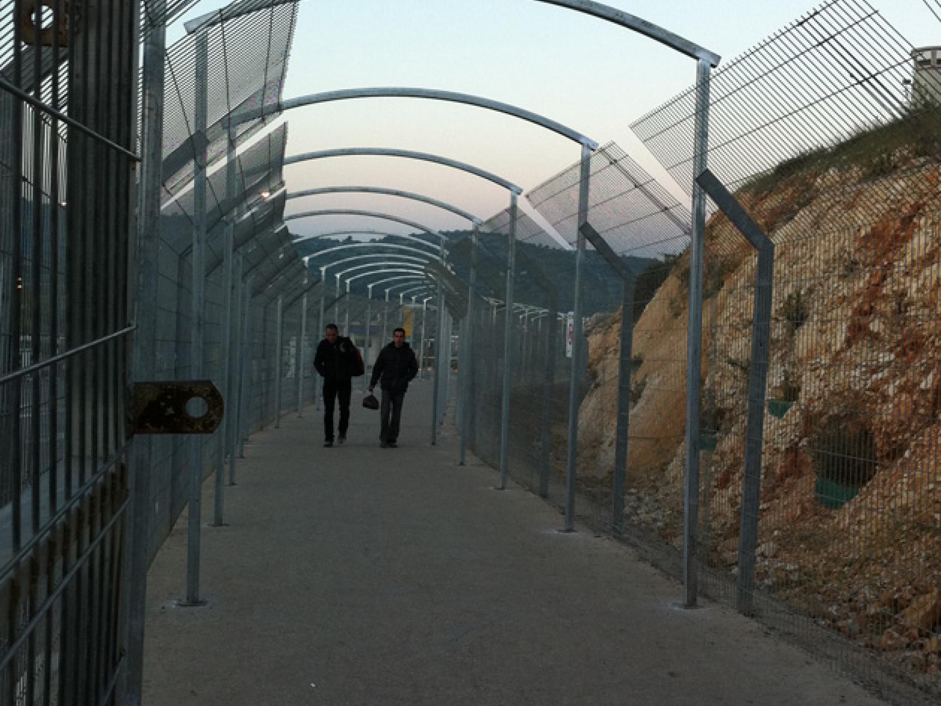 Barta'a/Reikhan checkpoint 01.04.12