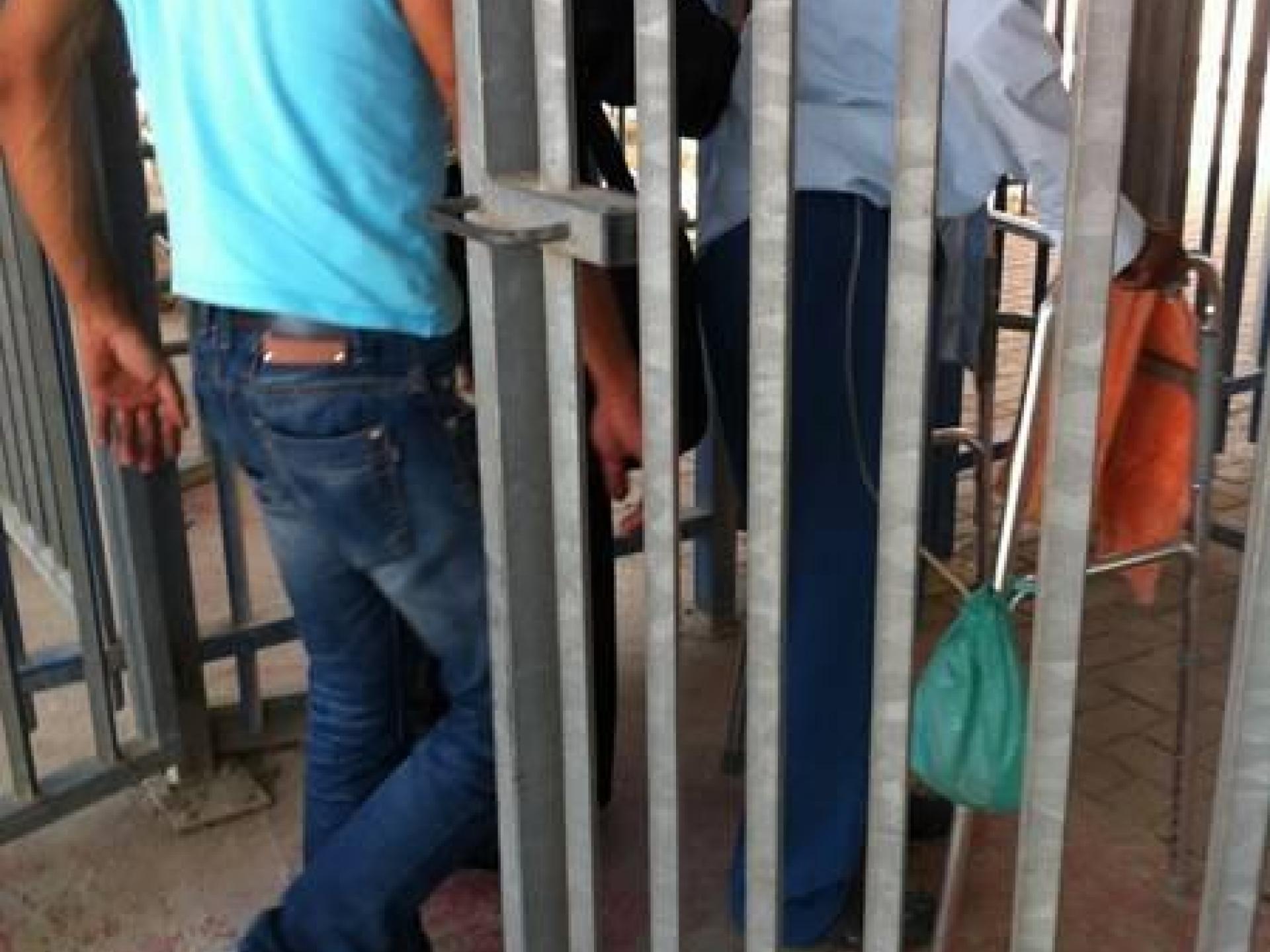 Ras Abu Sbeitan checkpoint 05.06.12