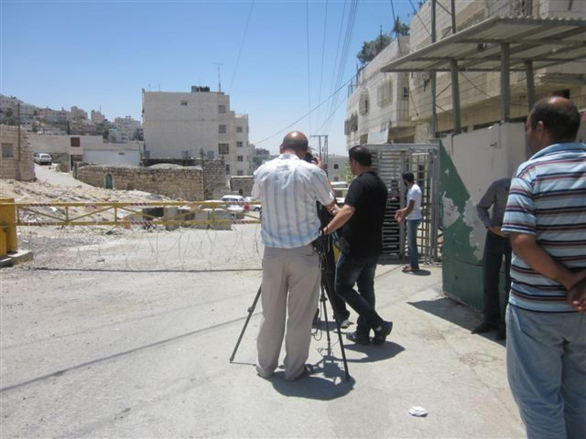 Checkpoint 160, Hebron 17.07.12