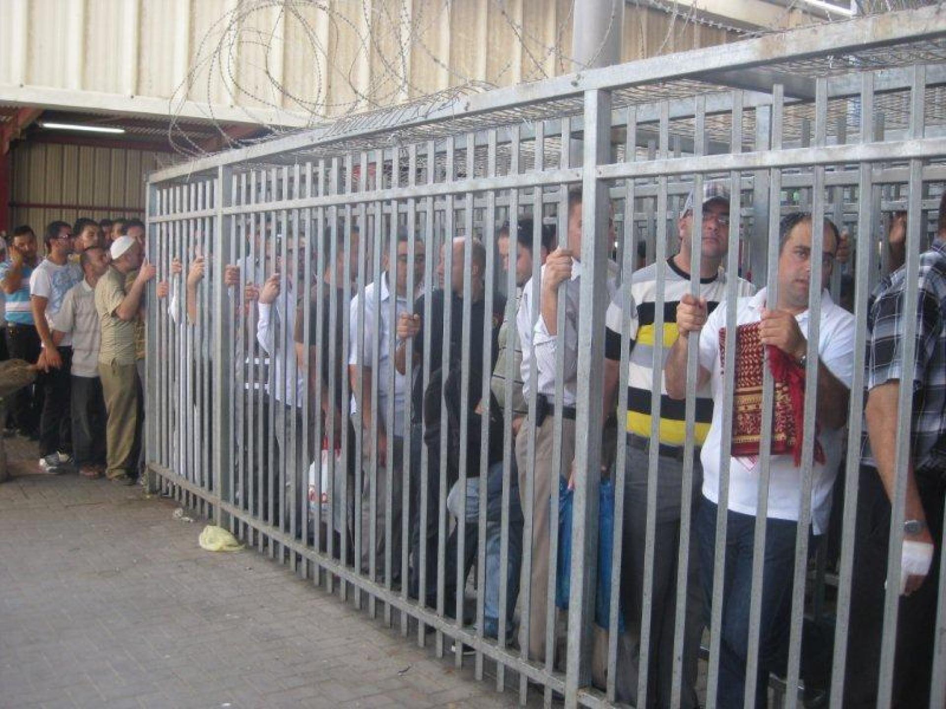 Qalandiya checkpoint 03.08.12