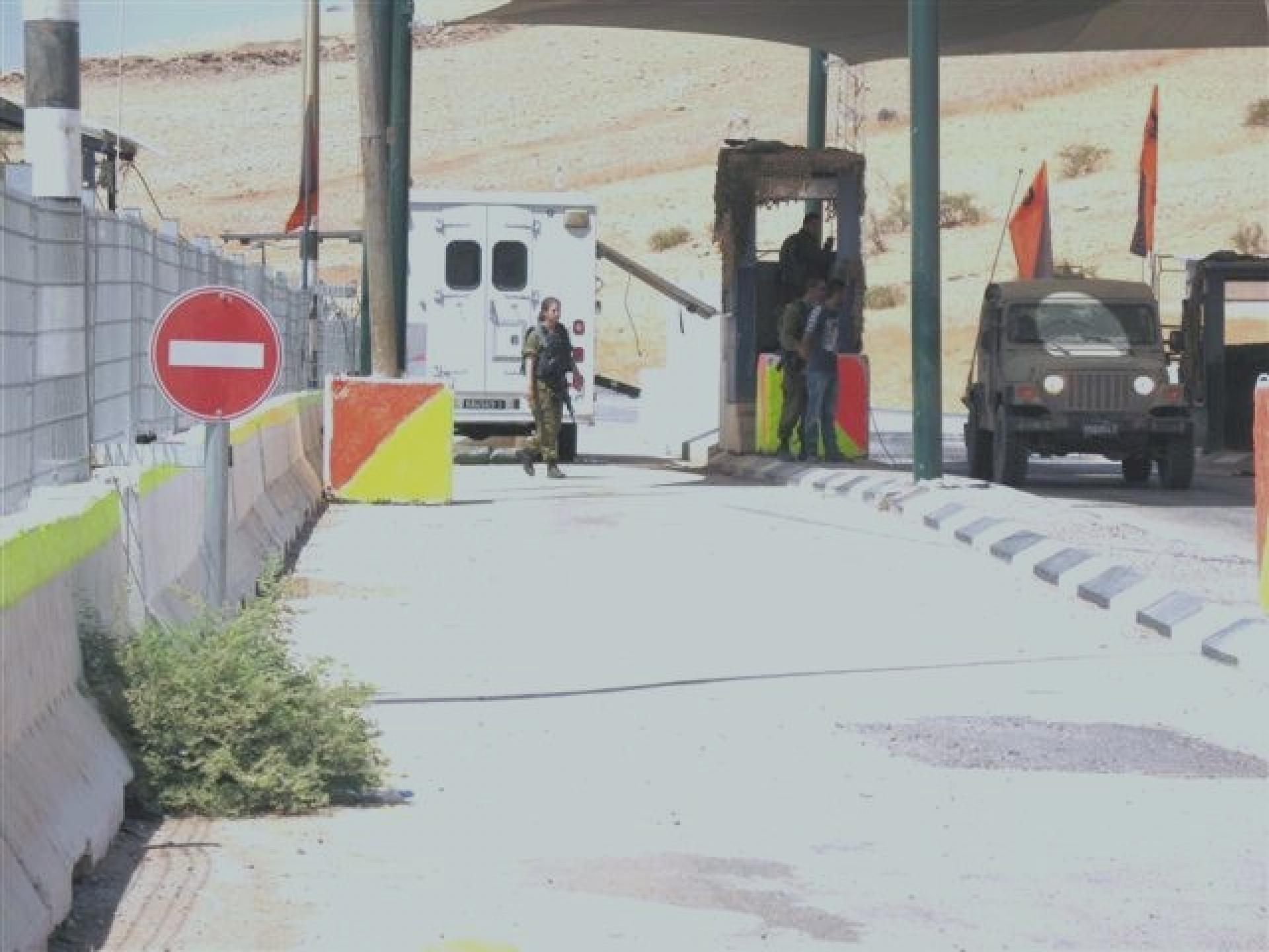 Hamra/Beqaot checkpoint 04.09.12