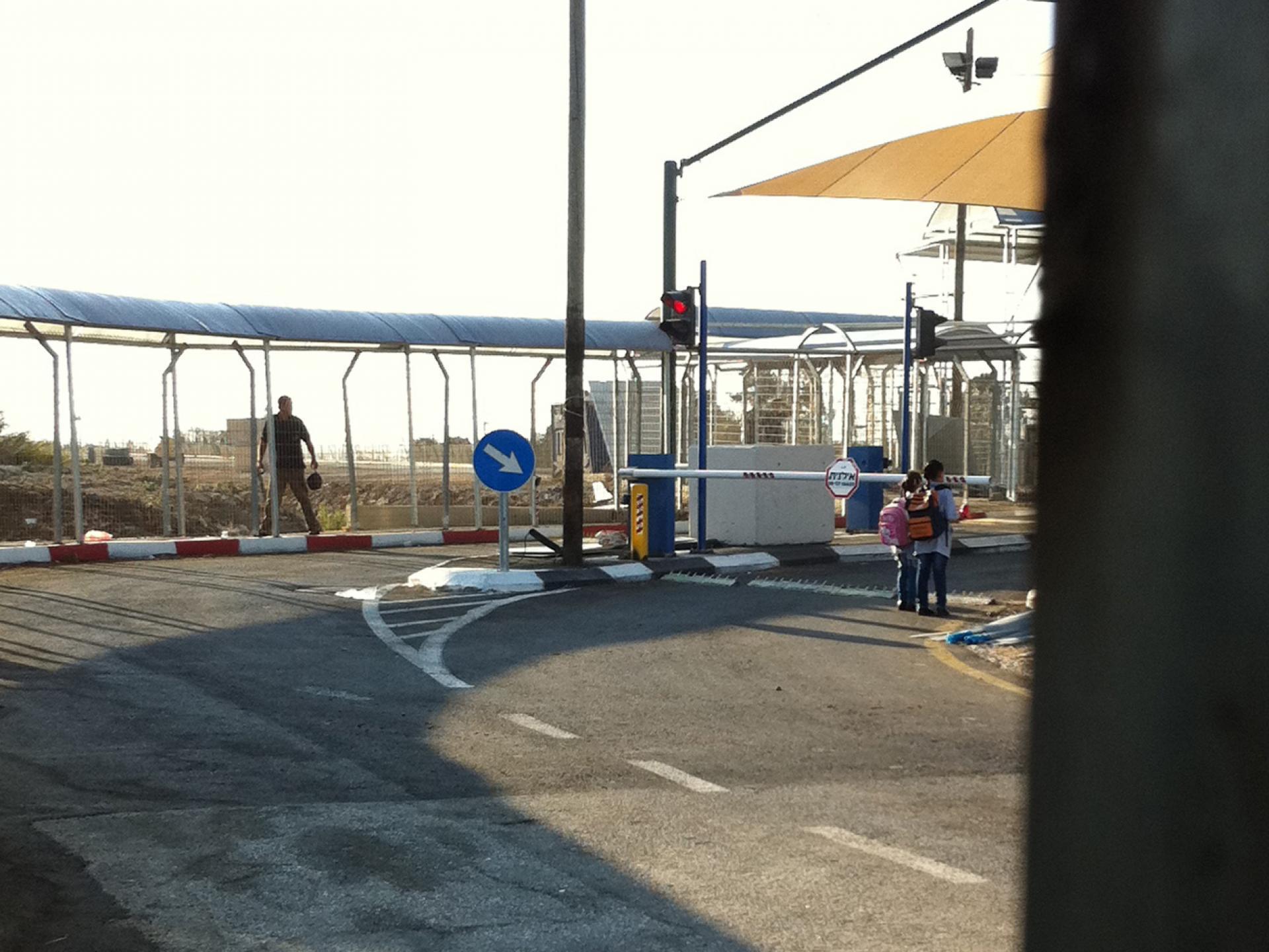 Tura/Shaked checkpoint 07.10.12