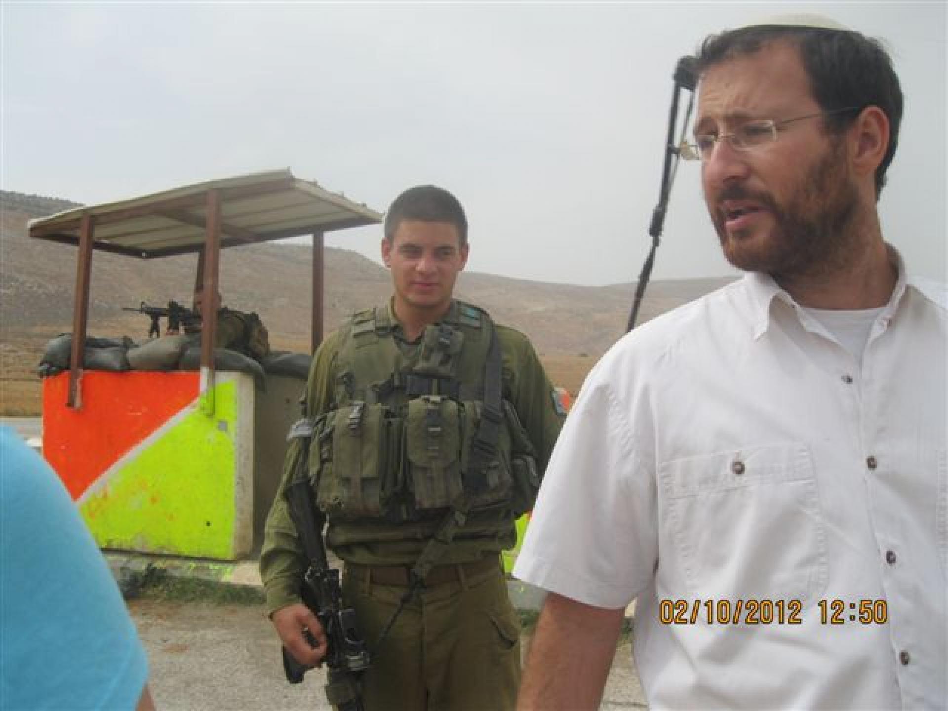 Ma'ale Efrayim checkpoint 02.10.12