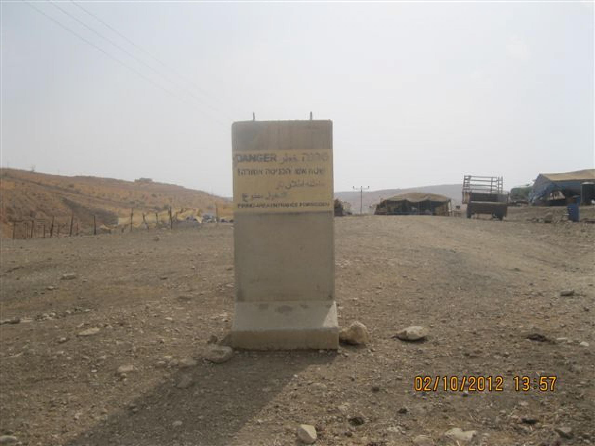 Jordan valley, Alon road/route 578 02.10.12