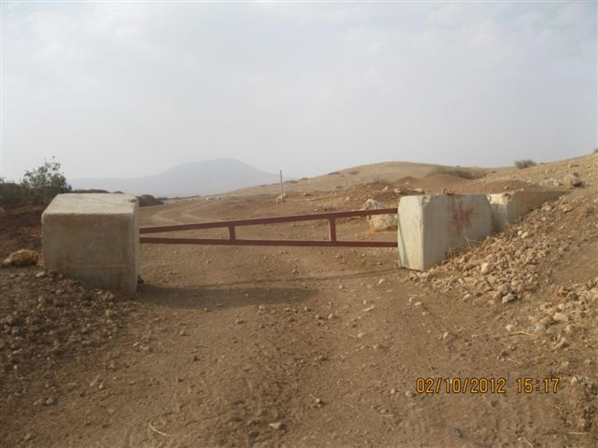 Gochia gate, Jordan valley 02.10.12