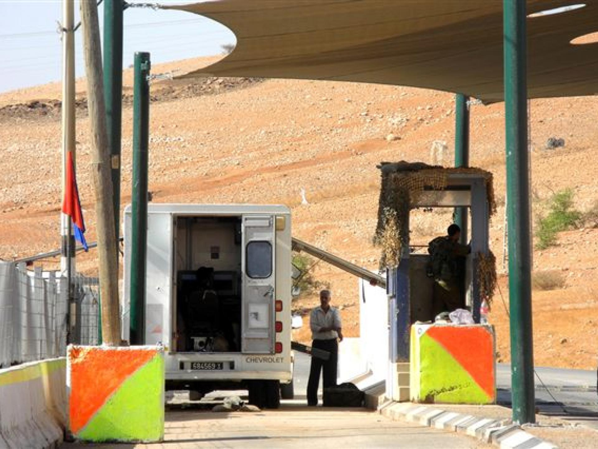Hamra/Beqaot checkpoint 30.10.12