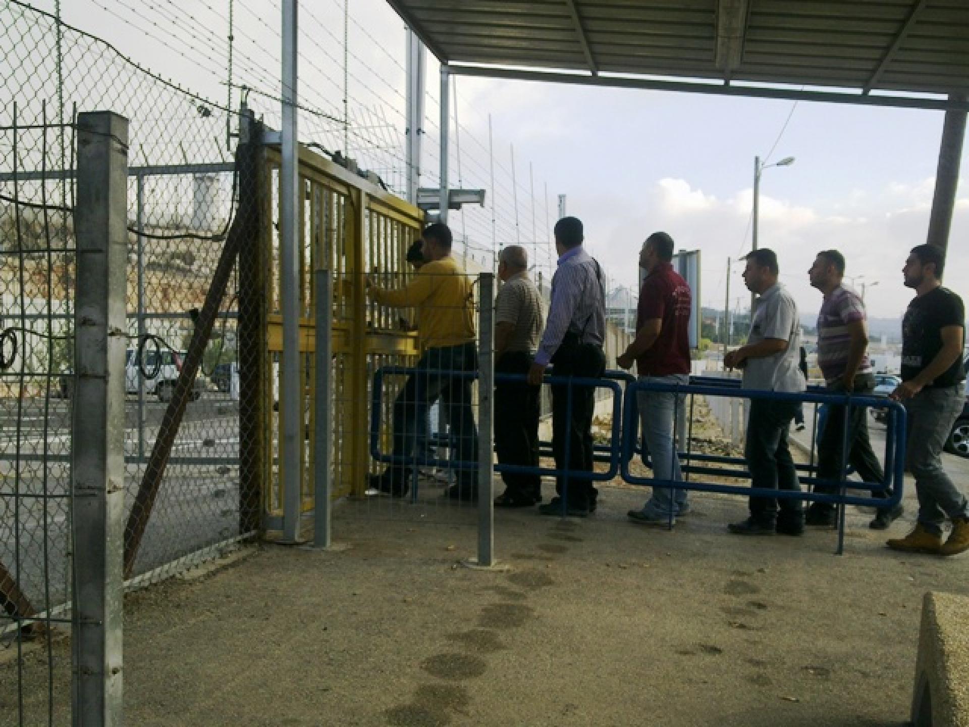 Barta'a/Reikhan checkpoint 08.11.12