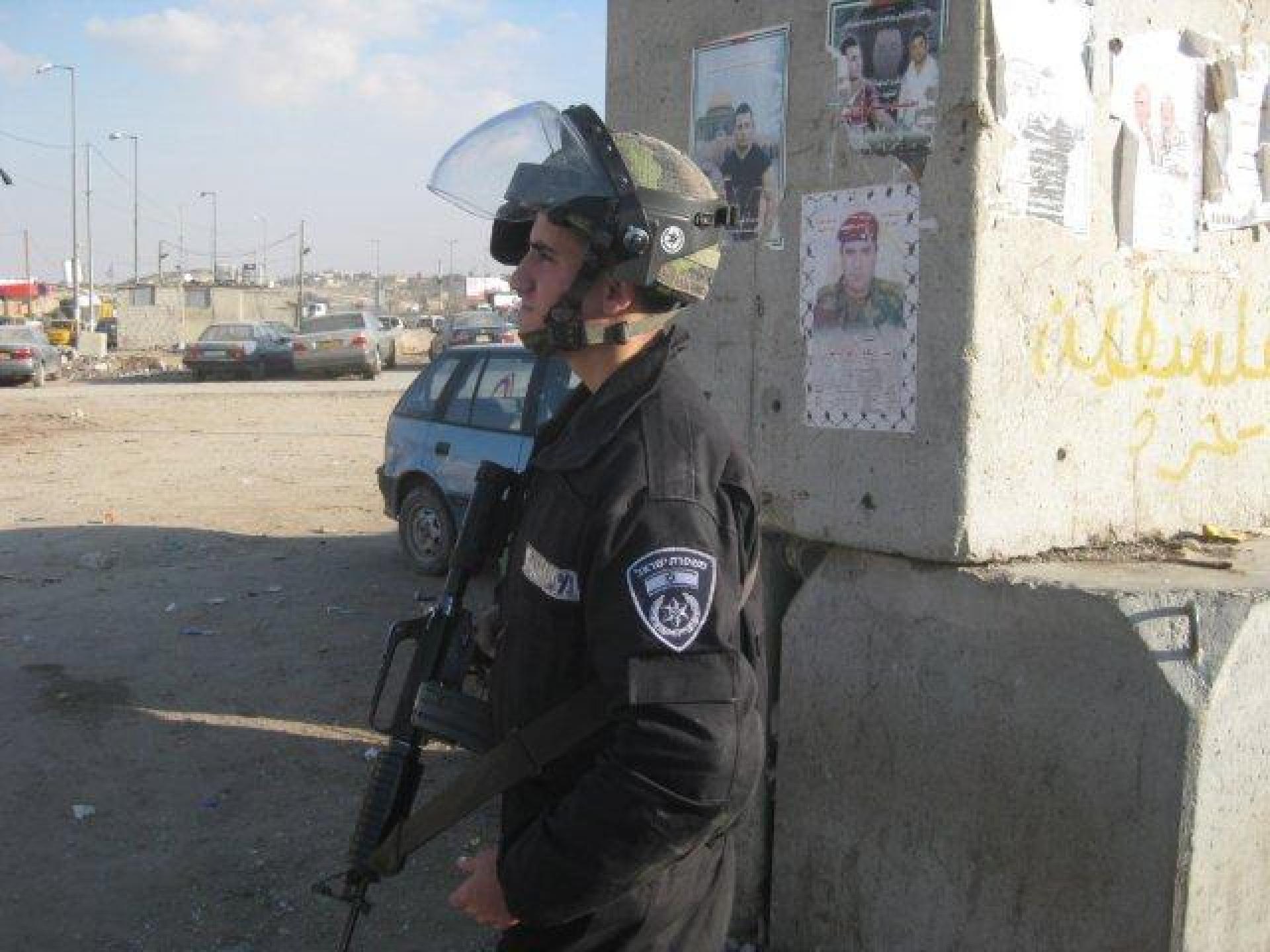 Qalandiya checkpoint 20.11.12