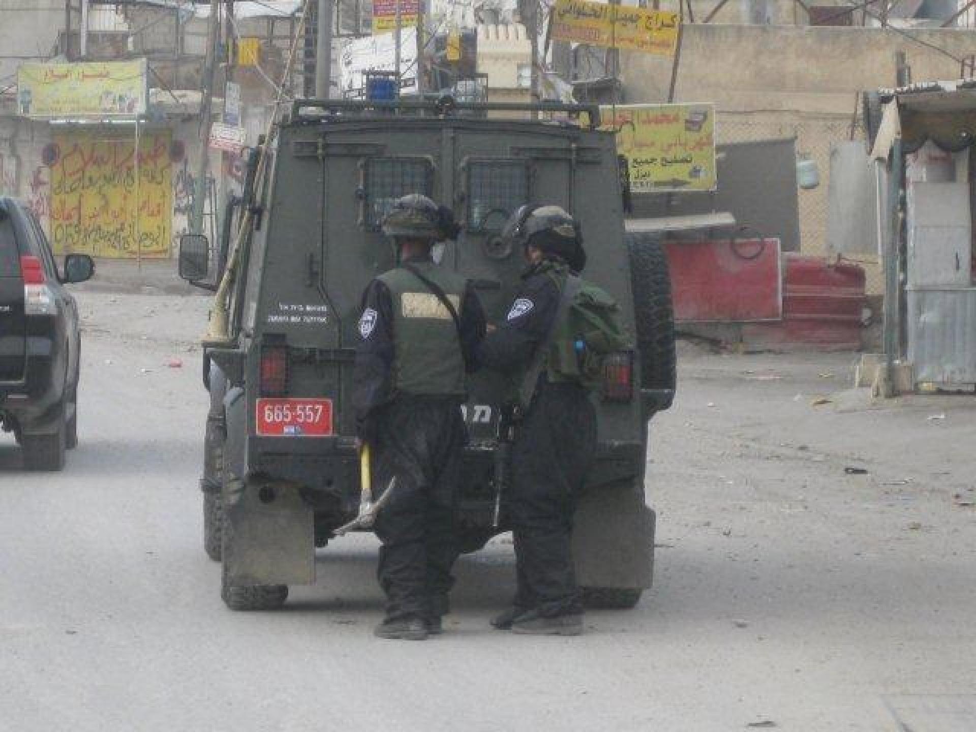 Qalandiya checkpoint 21.11.12