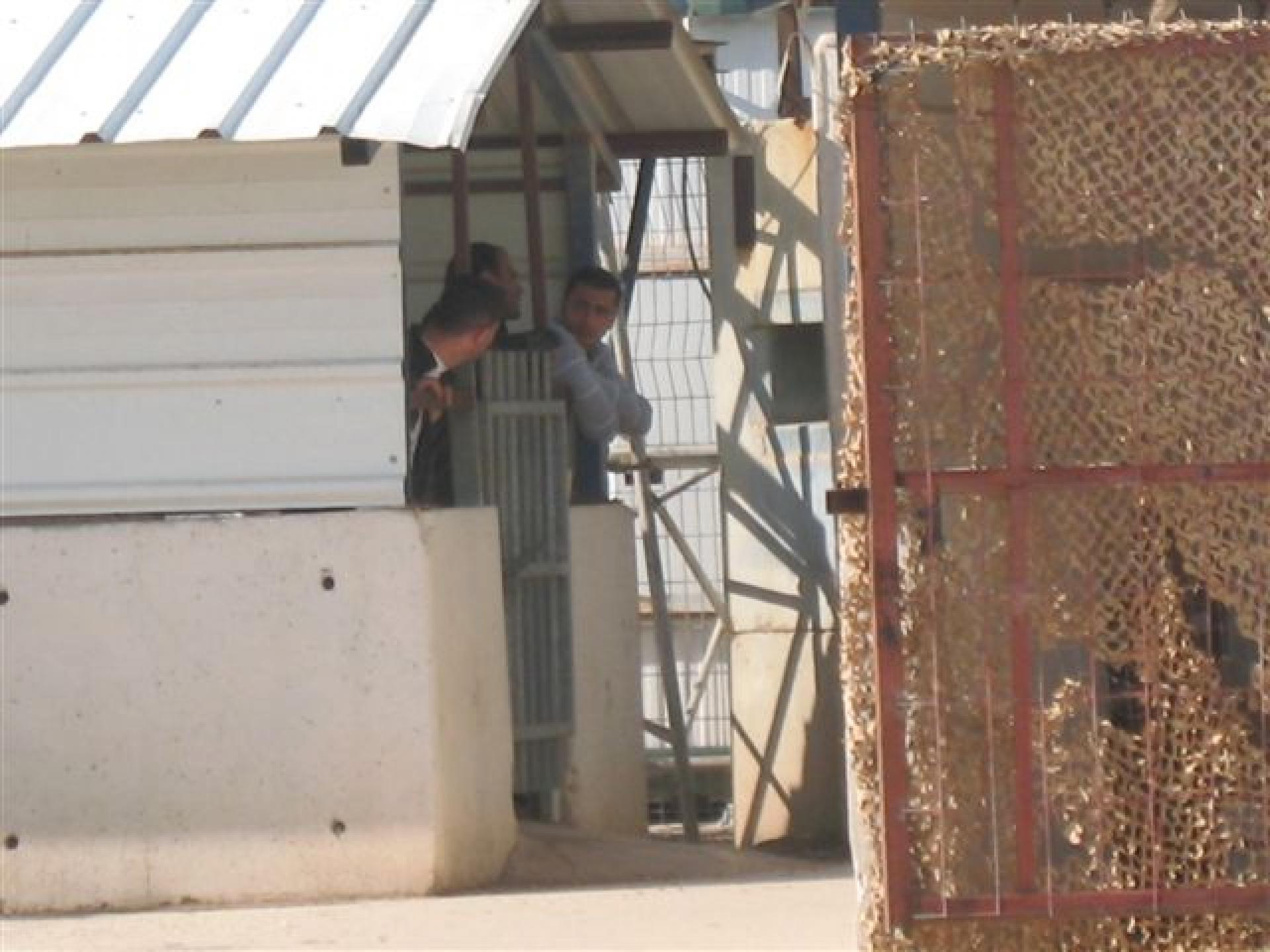 Hamra/Beqaot checkpoint 22.01.13