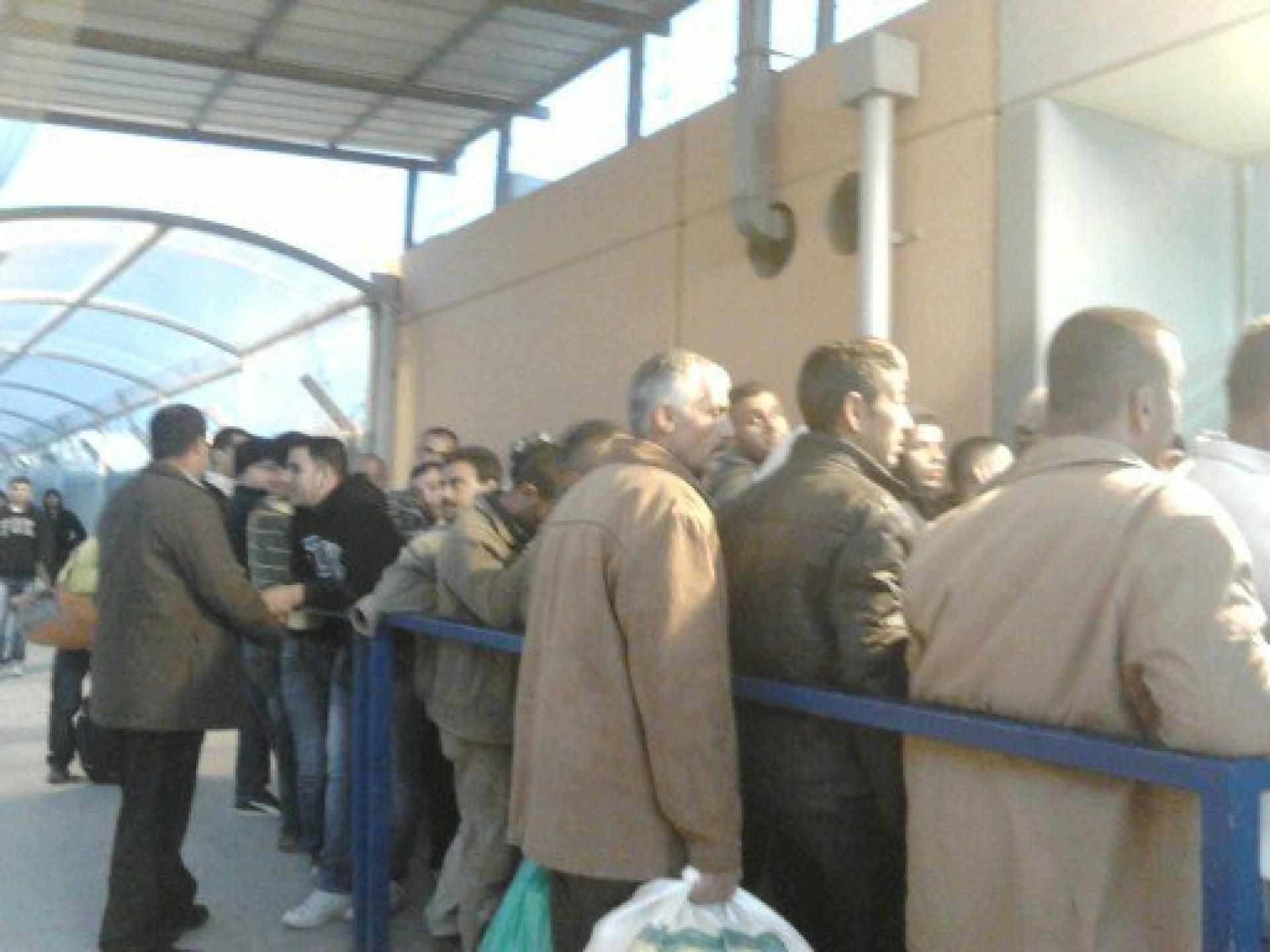 Barta'a/Reikhan checkpoint 25.02.13