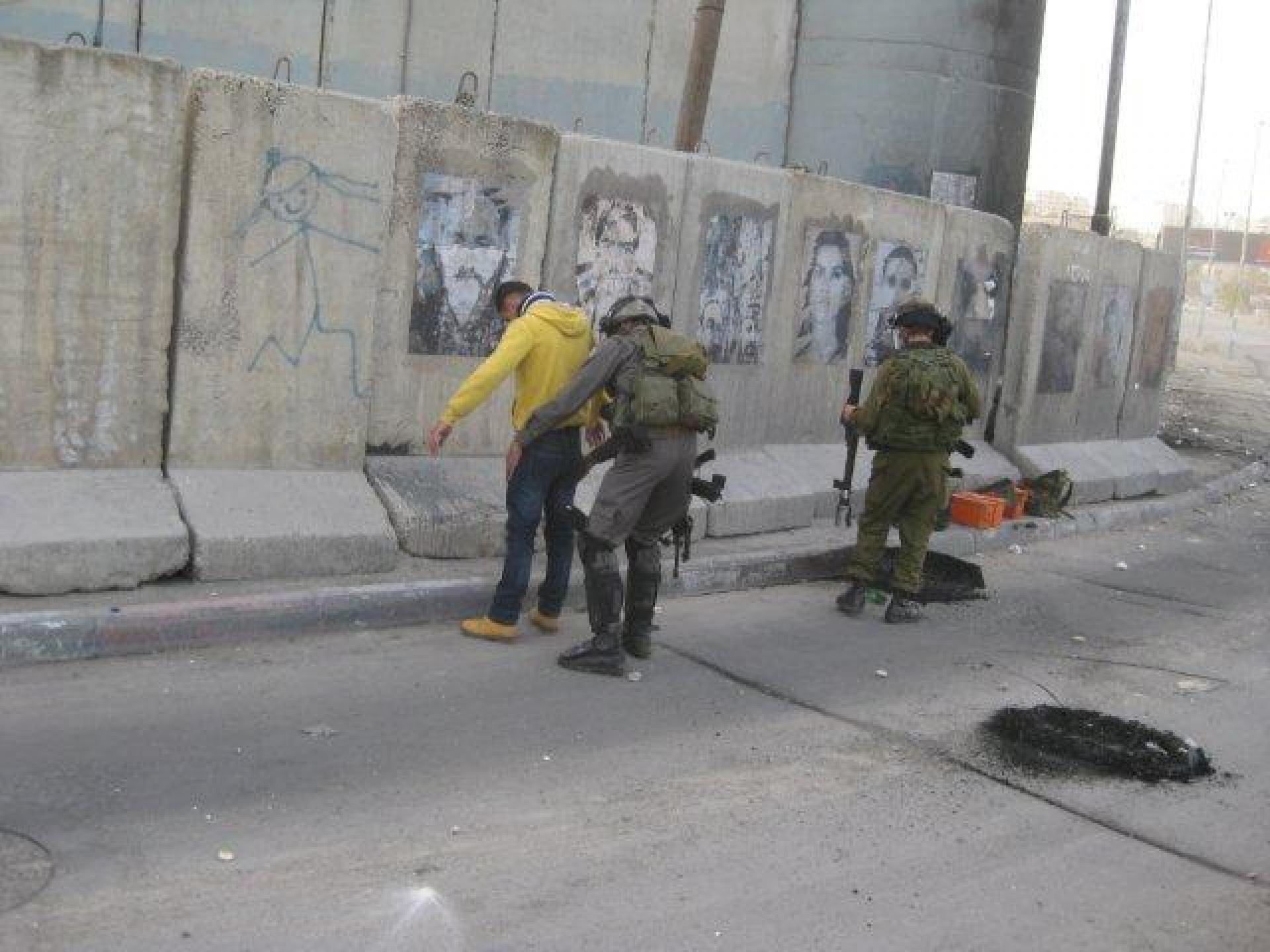 Qalandiya checkpoint 24.02.13