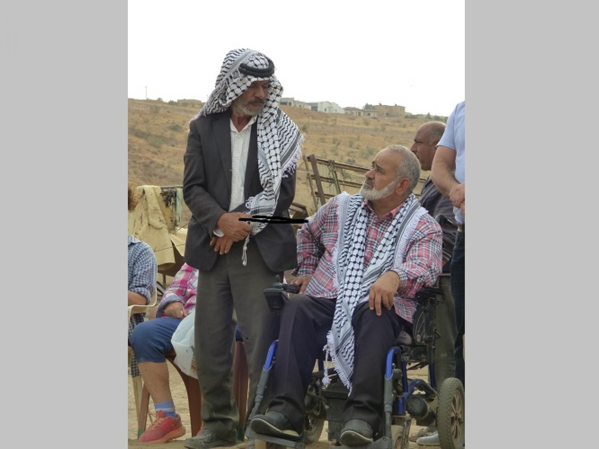 Jordan Valley Palestinian Community Leaders
