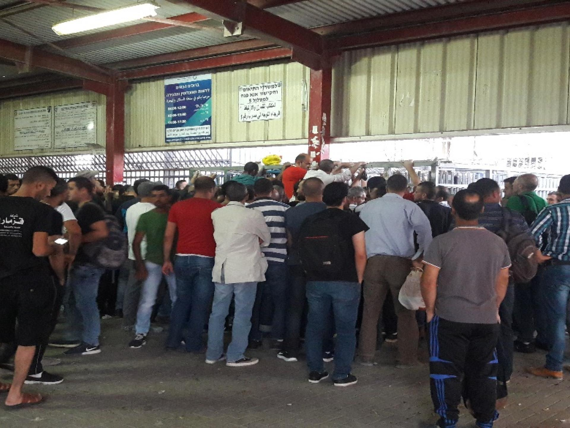 Collapsed queues