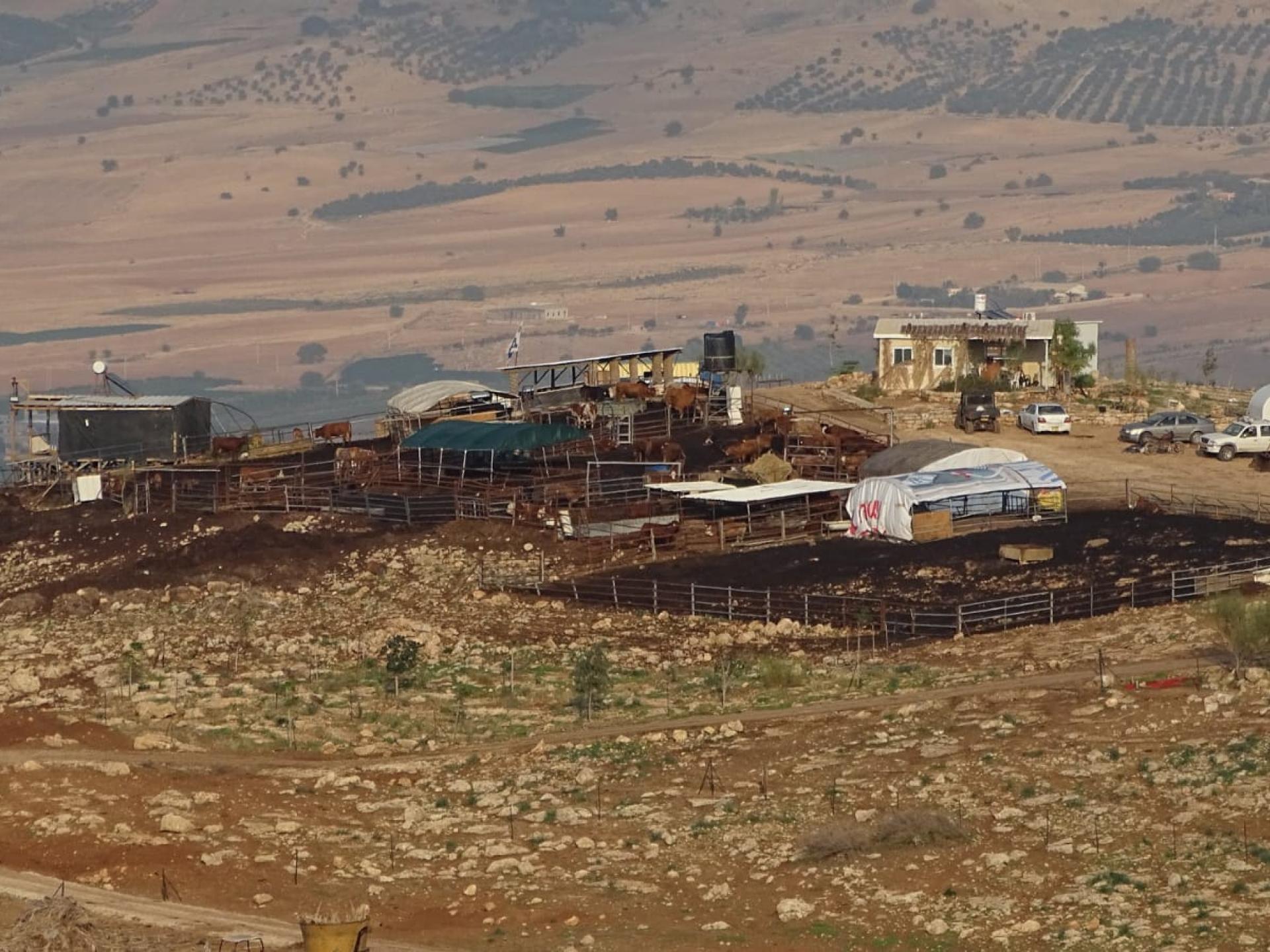 בקעת הירדן: המאחז הפיראטי באום זוקא הופך לאחוזה של איש אחד