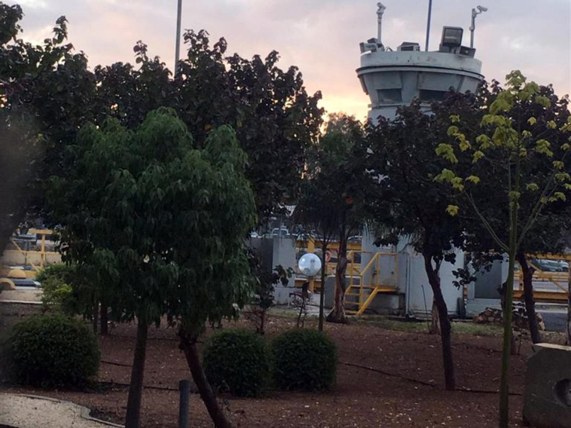 קטע ממחסום-פארק ג'למה