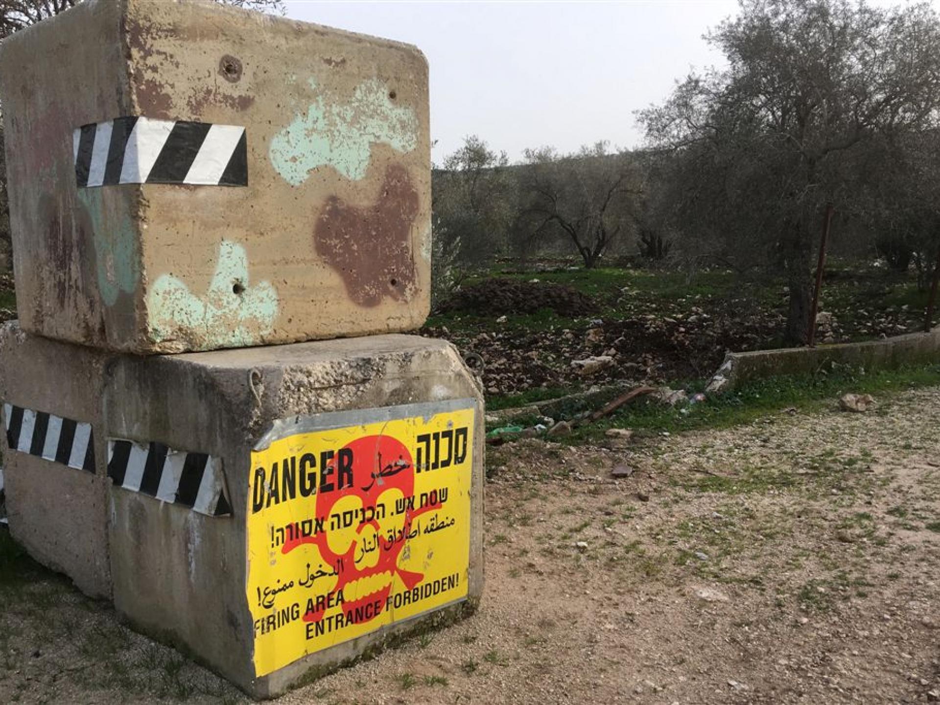 הכפר הפלסטיני אמריחא: לפתע הפכו לשטח אש (?)