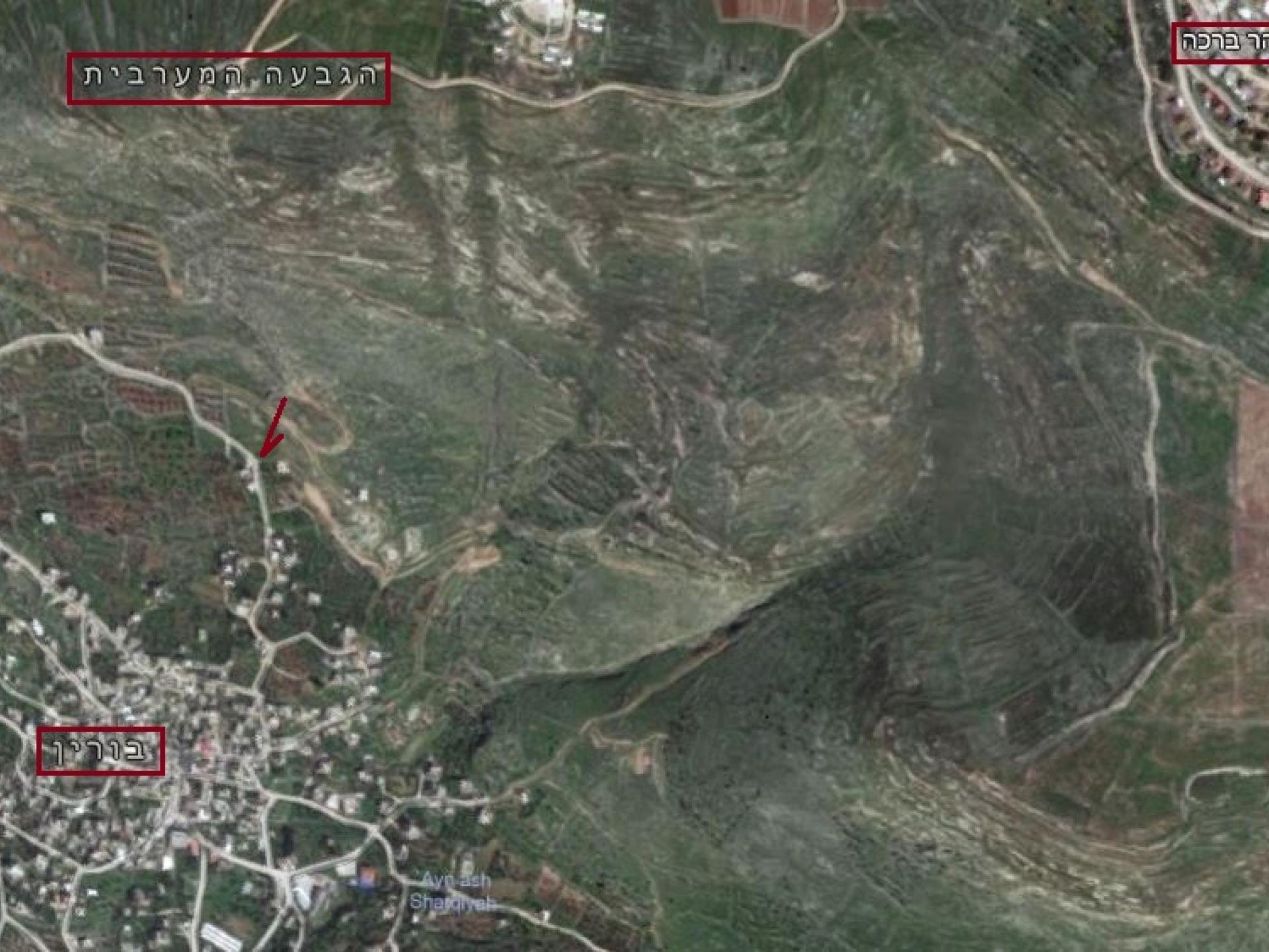 בורין: הבית הבודד למרגלות התנחלות סנה יעקב, מטרה להתקפות מתנחלים