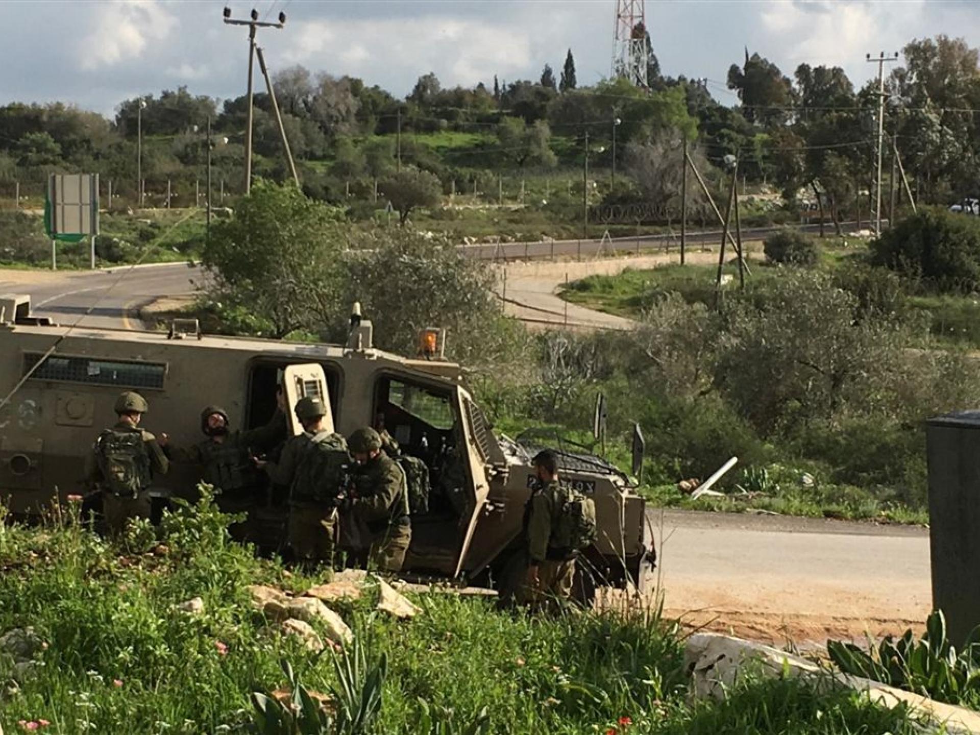 חיילי גדוד נצח יהודה מתאמנים ליד התנחלות חרמש 17.3.2019