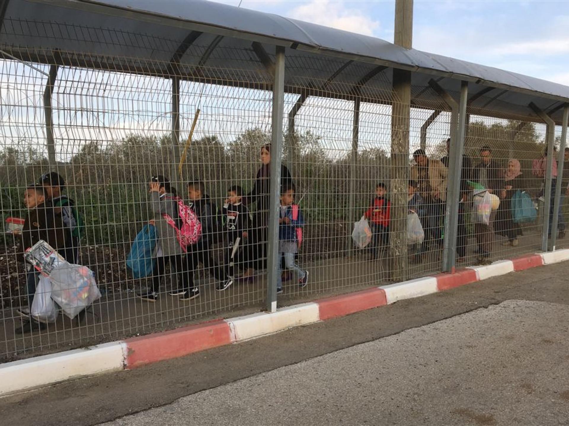 מחסום טורה: סוף סוף הילדים חוזרים הביתה