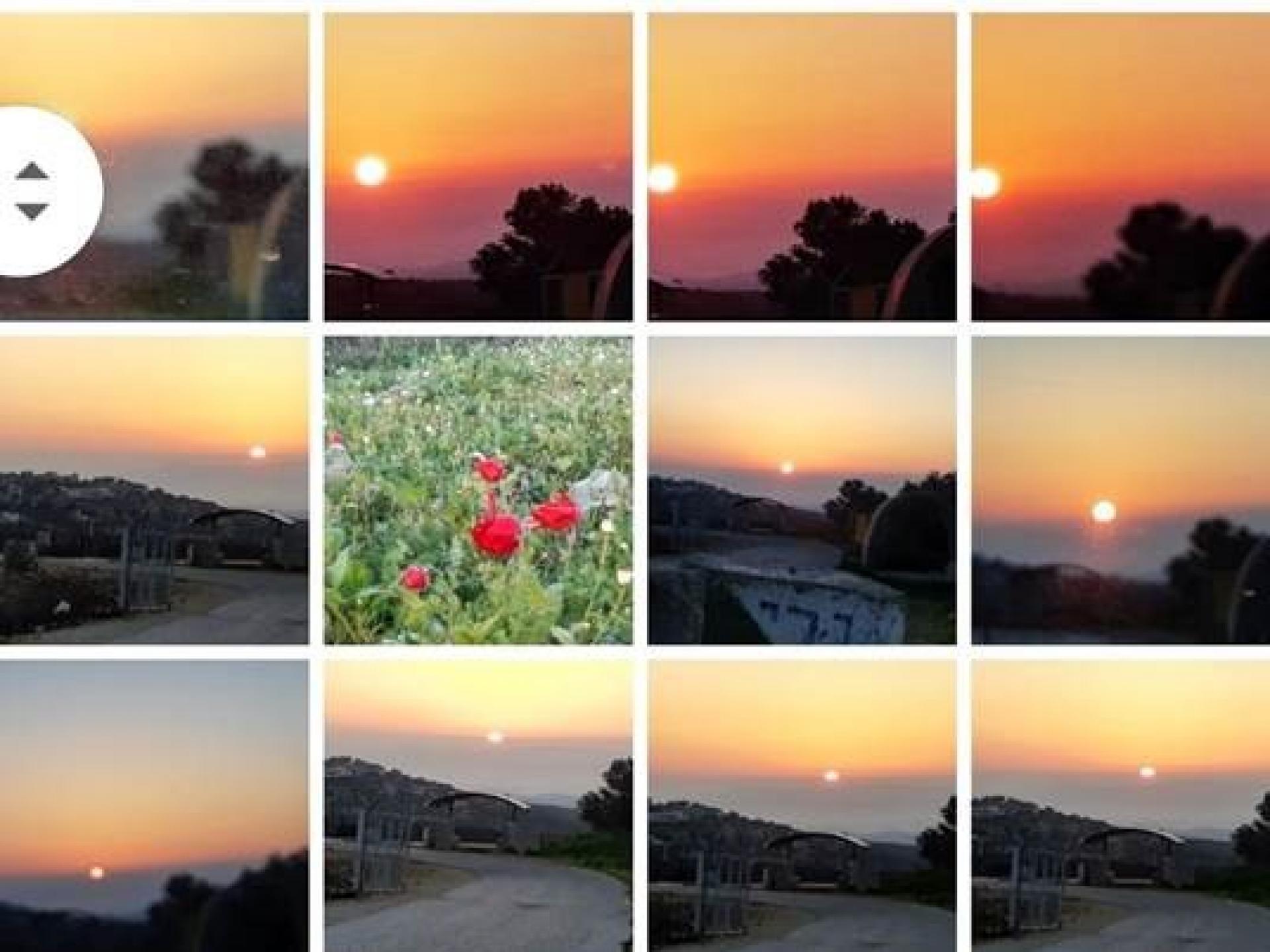 גבוה מעל הכיבוש השמש זורחת בכל תפארתה