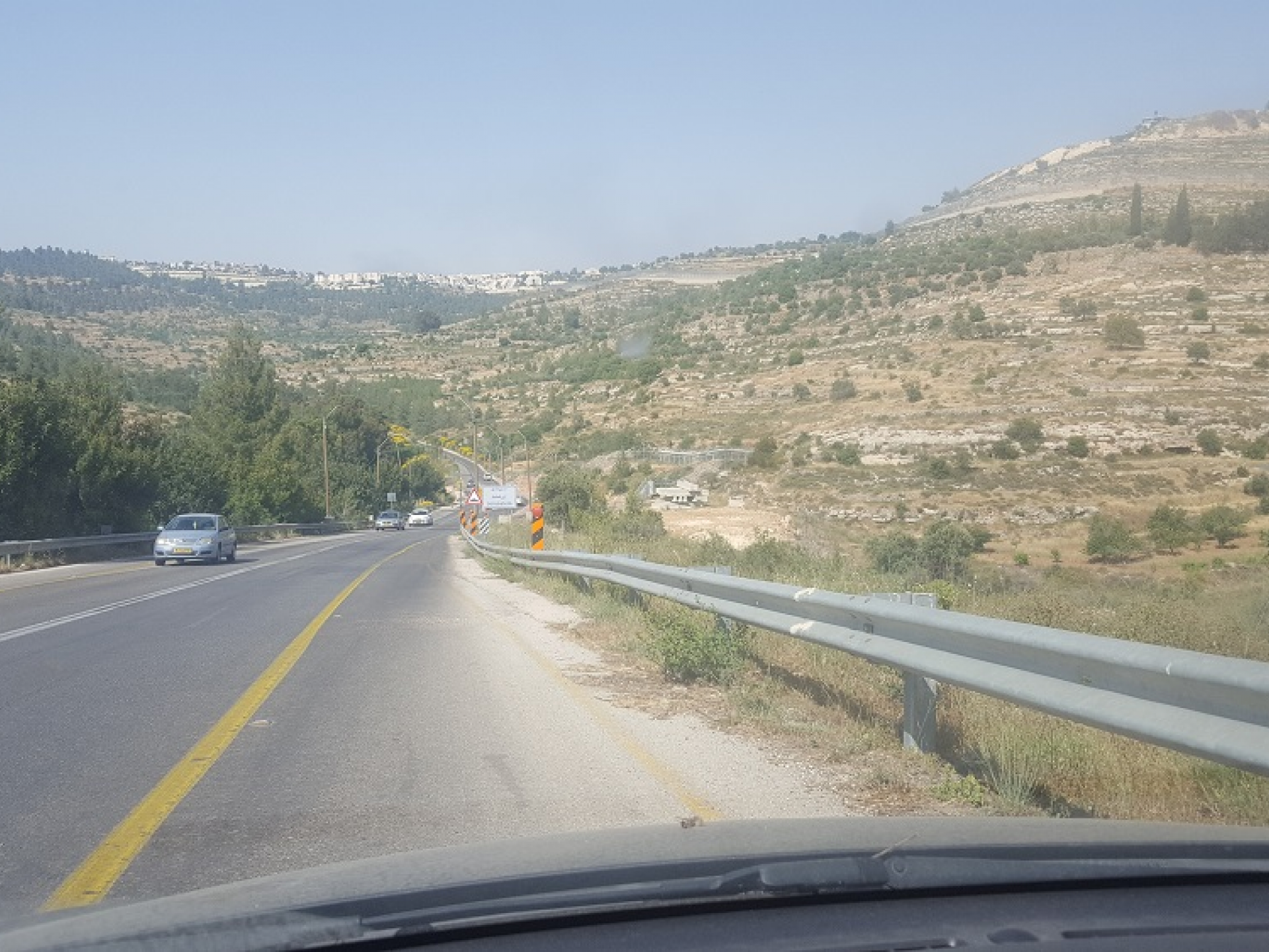 The new location of the Ein Yael checkpoint