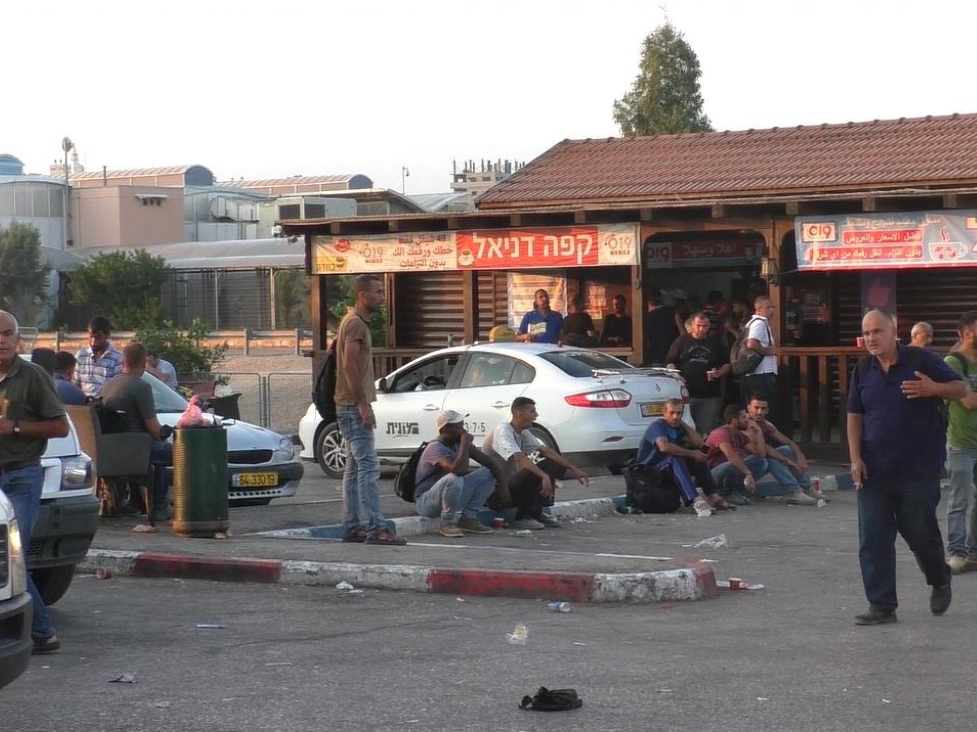 קפה דניאל במחסום אייל