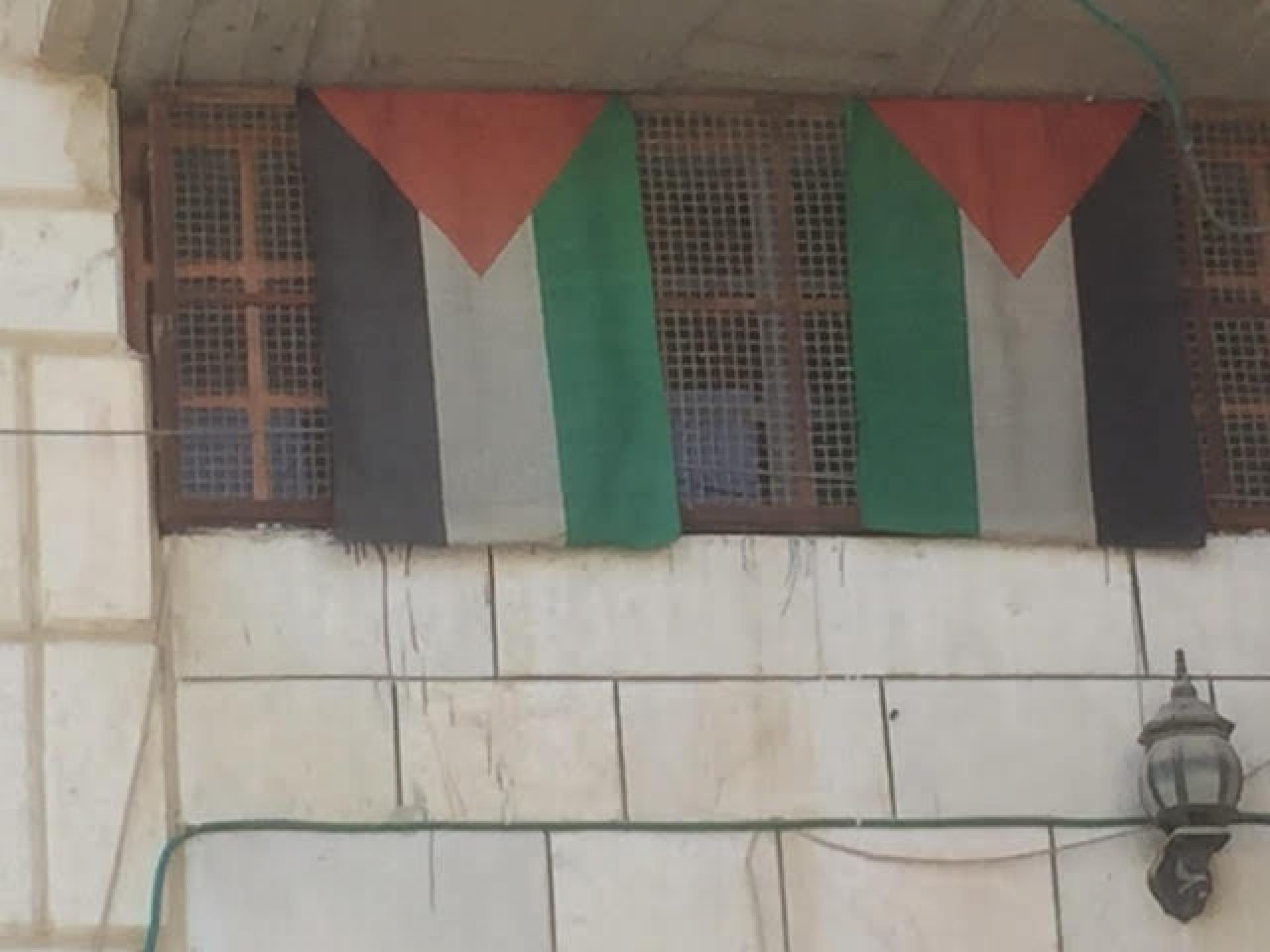 הדירות בבית המכפלה השייכות לפלסטינים