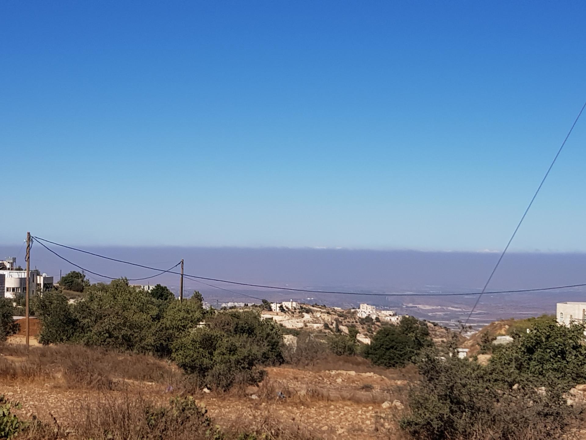 הנוף ה והמרחבים הפתוחים של אזור דרום הר חברון