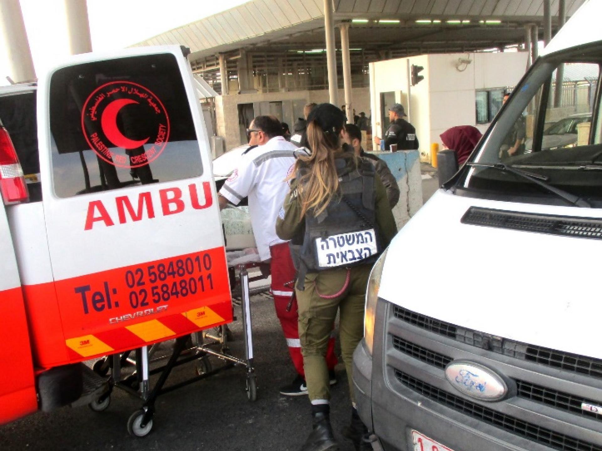 מאמבולנס פלסטיני לאמבולנס ירושלמי