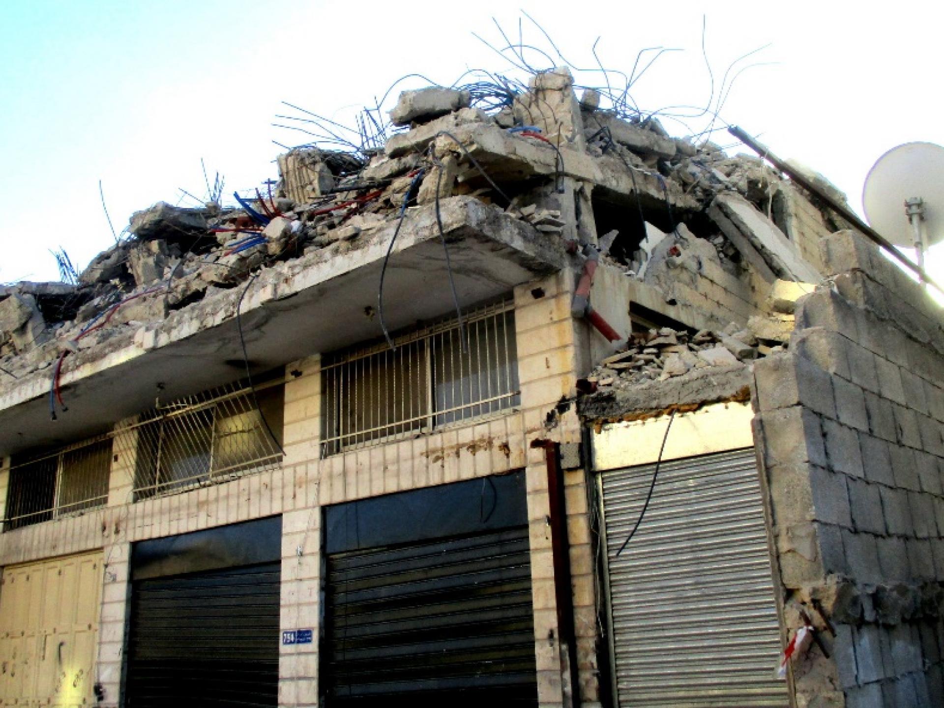 צהל הרס את הבית של השאהיד עלי ח'ליפה