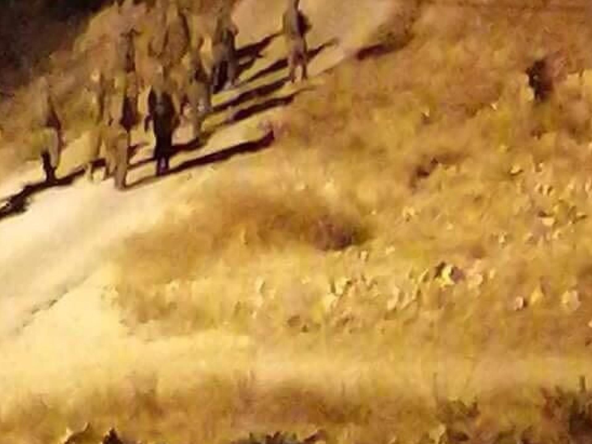 חיילים נכנסים לבורין