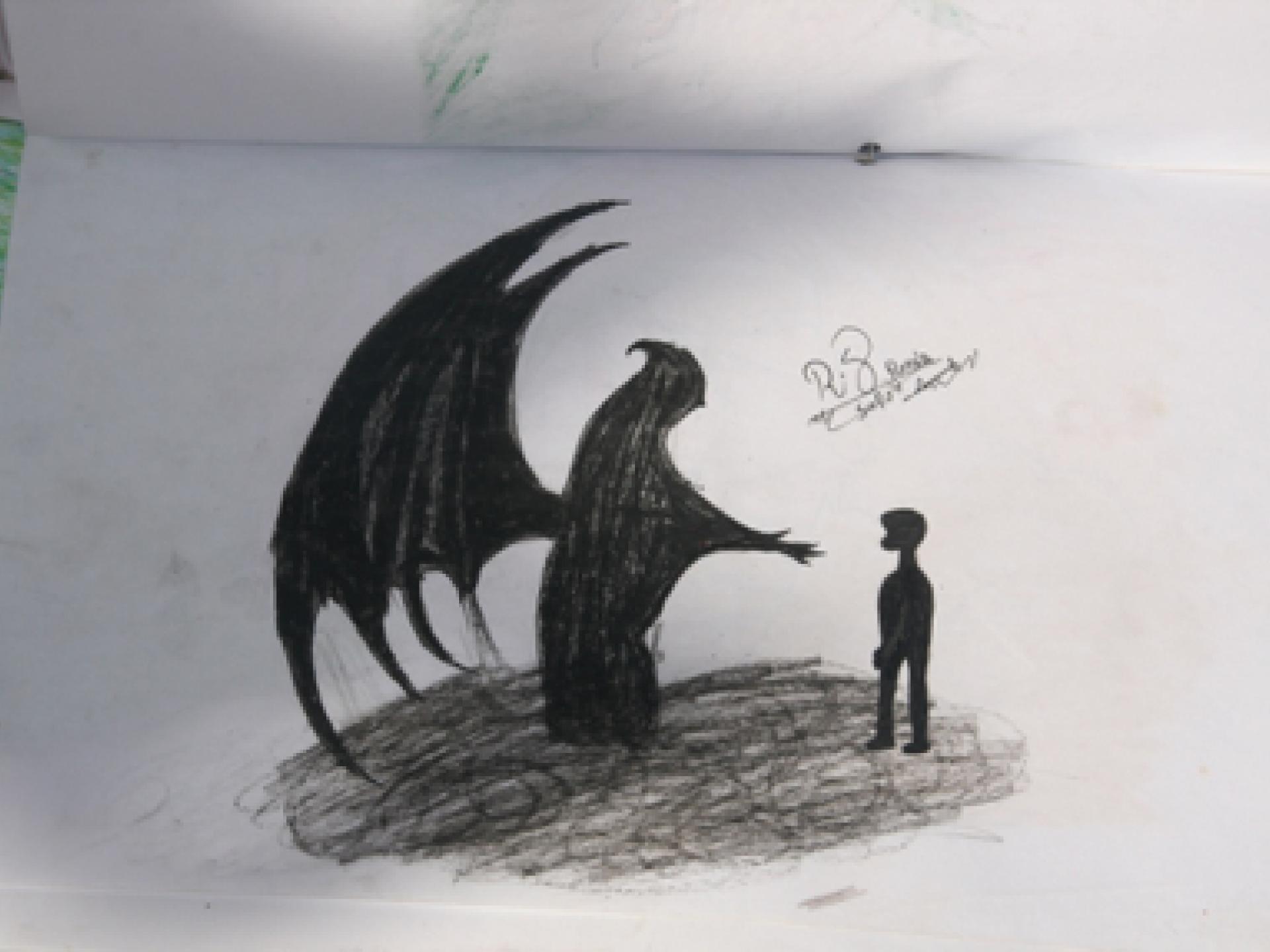 ציור של בתו של אבו סאפי