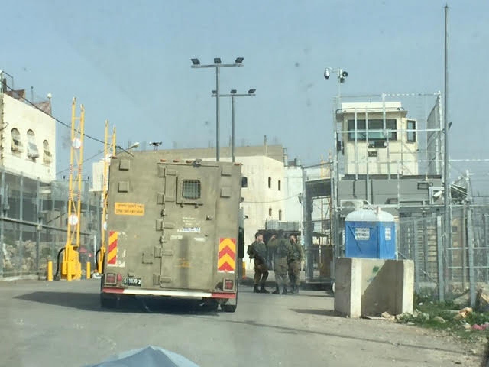 המחסום בכניסה לשכונת קפישה
