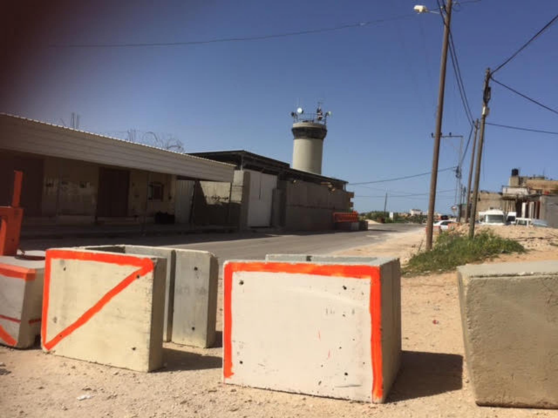 השערים שנבנו ליד הפילבוקס שבחורסה