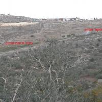 Sewage from Tapuach settlement  flows through Yasuf
