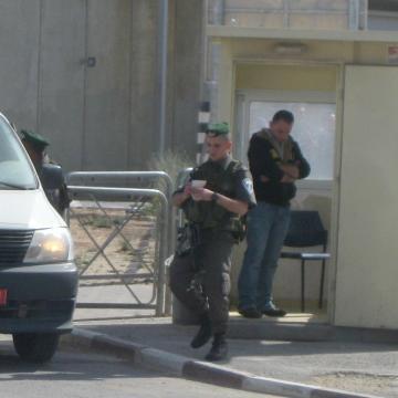 Qalandiya checkpoint 28.04.13