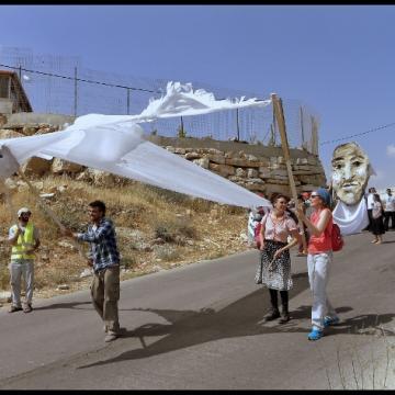 23/05/14 הפגנה בבית ג'אלה Demonstration in Beit Jala