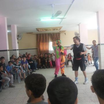 19.05.14 Magic jugglers in Nabi Elyas-Yuval and Tal