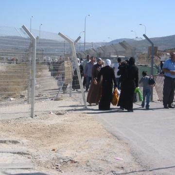 Huwwara checkpoint 2006