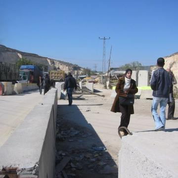 Beit Iba checkpoint 2006