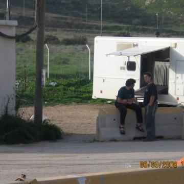 Huwwara checkpoint 06.03.08