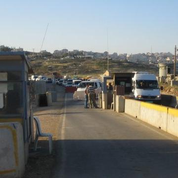 Bir Nabala checkpoint 24.04.08
