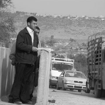Beit Iba checkpoint 05.10.06