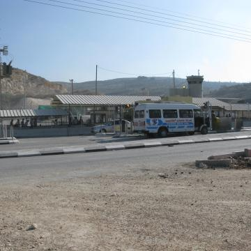 Beit Iba checkpoint 19.07.08
